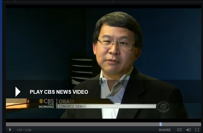 Luke Chung on CBS News