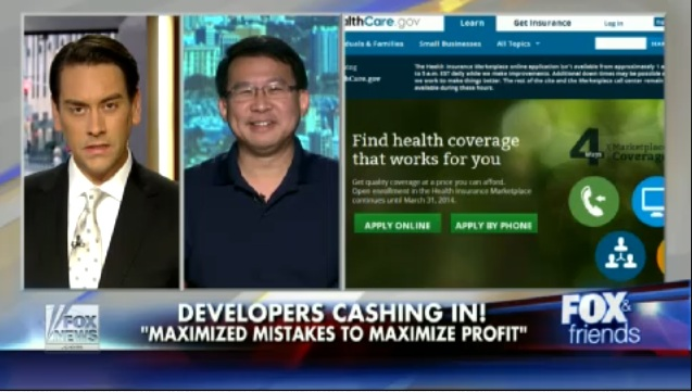 Luke Chung and Clayton Morris on Fox & Friends