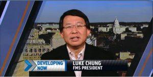 Luke Chung on MSNBC Chris Jansing Show